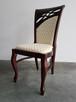 Krzesło tapicerowane do salonu restauracji Producent Nowe - 4
