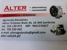 Regeneracja i sprzedaż alternatorow i rozrusznikow .