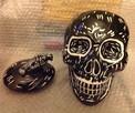 Pojemnik na ciastka czaszka, skull - 5