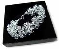 kryształy Swarovski - Efektowna bransoletka - 8