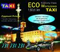 Taxi Eco tanie taxi Warszawa tel. 731 731 231 taniej od uber