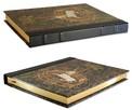 Stara księga gobelin z jednorożcem notatnik, pamiętnik - 3