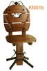 Krzesła drewniane, metaloplastyka, drewno