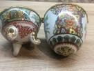 Porcelanowe jajko na drobną biżuterię lub inne SKARBY - 7