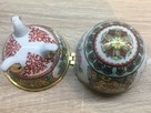 Porcelanowe jajko na drobną biżuterię lub inne SKARBY - 8