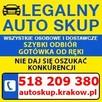 SKUP SAMOCHODÓW za gotówkę AUTO SKUP AUT Powypadkowych - 2