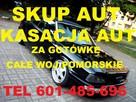 Skup Aut Złomowanie t.601485696 Lębork płacimy za każde auto
