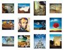 Salvador Dali reprodukcje kalendarz ścienny 2020 - 2
