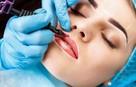 Brwi pudrowe ombre usta makijaż permanentny - 5