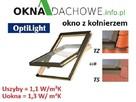 Okno dachowe OPTILIGHT 78x118 + KOŁNIERZ