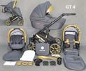 Wózek dziecięcy 3w1 Gold Ucio wózki dziecięce + fotelik - 7
