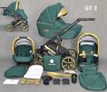Wózek dziecięcy 3w1 Gold Ucio wózki dziecięce + fotelik - 5