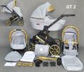 Wózek dziecięcy 3w1 Gold Ucio wózki dziecięce + fotelik - 6
