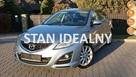 Mazda 6 Salonowa 2.0 Lifting2011 Przebieg TYLKO 89tys! 5drzwi Xenony Bose PDC