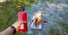 Symulacja gaszenia pożaru Ppoż gaszenie pożaru szkolenie