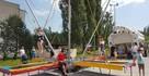 Eurobungee Skakaniec Trampoliny atrakcja Trampolina