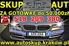 Auto Skup za gotówkę! PŁACIMY NAJWIĘCEJ! Skup Aut Kraków
