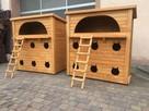 Buda dla sześciu kotów z miejscem do karmienia PRODUCENT !!! - 1