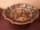 Półmisek duży chiński - ręcznie malowany - 1