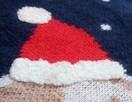 Granatowy sweter sweterek świąteczny na 7-8 lat - 2