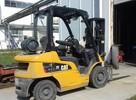 Wózek gazowy CAT 2,5t triplex 2011r