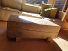 Stolik kawowy ze starego drewna - Alldeco