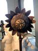Fontanna z brązu Dziewczynka ze słonecznikami - 3