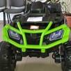 Quad Terenowy XL ATV, 24V do 45 kg Czarno Zielony - 2
