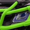 Quad Terenowy XL ATV, 24V do 45 kg Czarno Zielony - 4