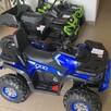 Quad Terenowy XL ATV, 24V do 45 kg Czarno Zielony - 7