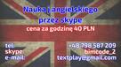 Nauka języka angielskiego przez Skype