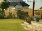 ogrodzenia z kamienia, elewacje z kamienia, kamieniarz, piaskowiec,prace z kamienia,wyroby z piaskow Szydłowiec
