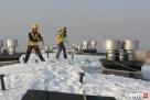 Odśnieżanie dachów, usuwanie śniegu, sopli. Andrychów