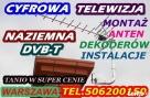 Montaż anten DVB-T darmowej cyfrowej TV naziemnej w super ce - 1