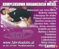 Fabryka Ślubu organizacja wesel, sklep ślubny, atrakcje
