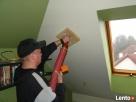 Docieplanie skosów poddaszy -domki, mieszkania -wdmuchiwanie