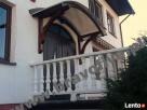 Daszek łukowy nad drzwi wejściowe, daszki nad drzwi Szczecin