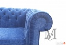 Sofa Mark Chesterfield pluszowa 3-osobowa - 2