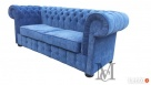 Sofa Mark Chesterfield pluszowa 3-osobowa - 3