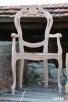 Rama surowa krzesła stylowego