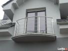Balustrady, poręcze, balkony ze stali nierdzewnej Piła