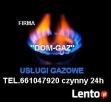FIRMA DOM-GAZ USLUGI GAZOWE ZAWIERCIE Zawiercie