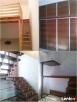 Schody, antresole, podłogi, meble, balustrady,