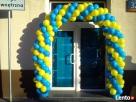 Balony z helem poznań hel do balonów brama łuk z balonów