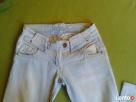 jeansy jasne S - 3