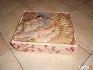 Drewniane pudełko ręcznie malowane- Warszawa Ochota - 8