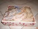 Drewniane pudełko ręcznie malowane- Warszawa Ochota - 6