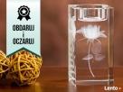 Kryształowy świecznik - Prezent GRAWER 3D Bydgoszcz