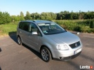 SPRZEDAM VW TOURAN TDI 2004 2,0 100kW srebrny matalic