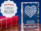 Labirynt miłości - Grawer w statuetce 3D na prezent Bydgoszcz